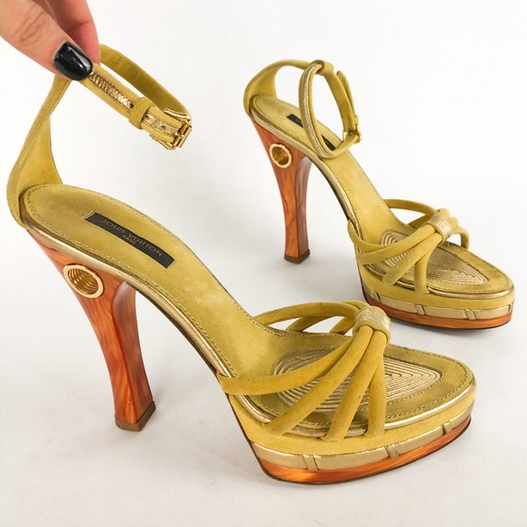 fashion detailed images lower price with Louis Vuitton Shoes | Platform Heels | Poshmark